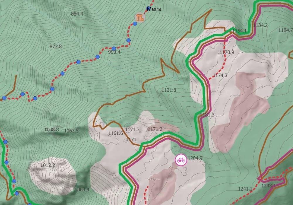 Monte Bracco statica